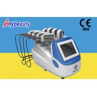 Portable Body Lipo Laser Slimming Machine With 8 Handpieces For Fat Removal for sale