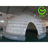 Quality 2016 hot sell  inflatable clear bubble tent for commercial use with 24months warranty for sale
