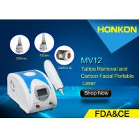 Quality Professional Portable Nd Yag Laser Tattoo Removal Skin Rejuvanation Machine for sale