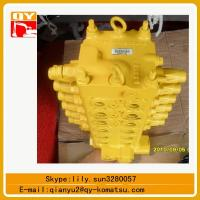 Quality komatsu PC60-7 excavator hydraulic valves for sale for sale