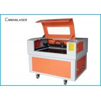 China CO2 Wooden Crystal Laser Engraving Cutting Machine With 600*400mm Water Cooling on sale