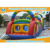 Quality Jumping Obstacle Course For Kids , Bouncy Obstacle Course Jumper Rental for sale
