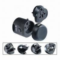 Buy cheap Swiss Travel Adapter with USB Charger from wholesalers