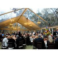 Quality 500 People Outdoor Clear Span Tent  Aluminum Structural Luxury Wedding Marquee for sale