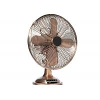 Quality Electric Desk Fan oil-rubbed bronze Three Speeds 30 watt motor 50Hz for sale