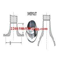 Buy Forged Steel Pipe Fitting Saddle Pad Carbon Steel ASTM A105 Sweeploet at wholesale prices