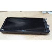 Quality 240mm aluminium radiator for computer watercooling for sale