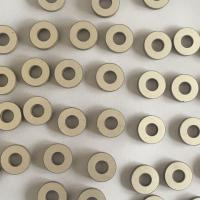 Buy cheap ISO / CE 15x6x3 P8 Material Piezo Ceramic Element Small Ring Shaped from wholesalers