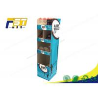 Quality Stable Corrugated Pop Displays , Full Color Printing Pop Display Stand For Advertising for sale