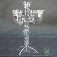 Buy CH (8) wholesale mercury Acrylic candle holders at wholesale prices
