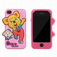 Quality Silicone Case for iPhone 5, OEM/ODM Orders Welcomed for sale