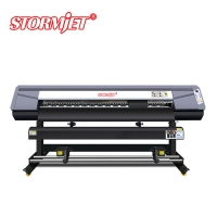 China commercial poster printer machine 1.8m 3200dpi on sale