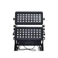 Quality Aluminum Chassis LED Wall Washer Light For Outside 10 CH RGBW 4 In 1 for sale