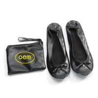 Quality Stock Foldable Ballet Flats for Wedding Receptions and Bridesmaid Gifts Fits in a Purse, New Christmas Gift for sale