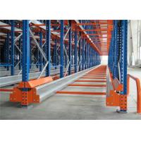 Quality Logistics Equipment Warehouse Radio Shuttle Racking System With Powder Coating Paint Finish for sale