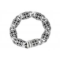 Buy Clover Stainless Steel Bangle Bracelets , Enameled Stainless Steel Magnetic Bracelets at wholesale prices