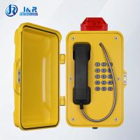Quality IP67 weatherproof telephone box / Railways Tunnel Emergency Telephone with LED light for sale