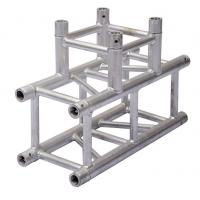 Quality Durable Aluminum Lighting Truss Unique Design With Three Sides Corner for sale