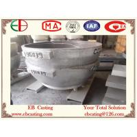 Quality Cast Steel Melting Pot for Melting Aluminum EB4058 for sale