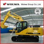 Quality farming machine chinese excavator yuchai excavator DLS130-9 for sale