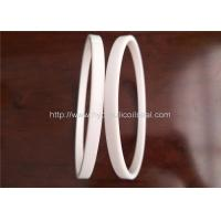 PTFE Hydraulic Cylinder Seals , Pure White Excavator Air Cylinder Seals