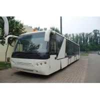 Buy Large Capacity Low Carbon Alloy Body Airport Passenger Bus Ramp Bus DC24V 240W at wholesale prices