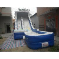 Quality Bule Inflatable Water Slide for sale