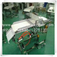 Quality metal detector for FOOD industry with convyor belt,alarm and automatic rejector for sale