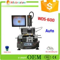 Quality Special Offer WDS-600 bga laptop repair machine infrared smd rework station for sale