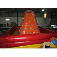 Quality Attractive Inflatable Climbers For Toddlers , Funny Inflatable Climbing Tower 6 x 6m for sale