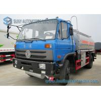 170HP 4x2 Transport Chemical Oil Tank Truck Dong Feng Vehicles