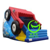 Quality 2016 hot sell  inflatable car slide with 24months warranty GT-SAR-1616 for sale