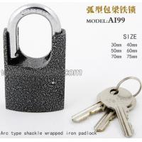 Buy cheap Shackle padlock name:Arc type Shackle Wrapped Iron Padlock from wholesalers