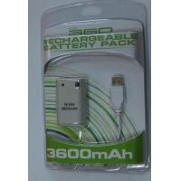 China Accessory xbox 360 rechargeable battery on sale