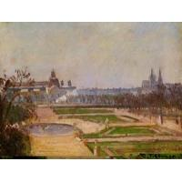 Quality Impressionist(3830) The_Tuileries_and_the_Louvre for sale