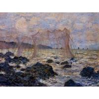 Quality Impressionist(3830) Fishing_Nets_at_Pourville for sale