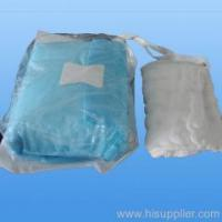 Quality Non-woven Products Lap sponge sterile and unsterile for sale