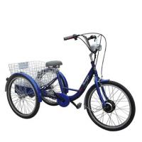 Quality Electric trike Motor: 250 high speed brushless motorBattery: 36V 12AH Brake :Front/V Rear/expansileTire: 24*1.75inchMax speed: 20KM/hRange per charge:40KMCharge time: 4-6 hoursCharge voltage90-260VOthers:with PAS for sale