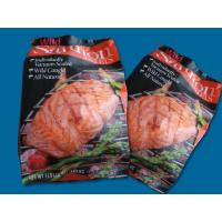 Frozen Salmon Fish  Wild Alaska Salmon Fillets in Package