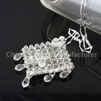 Buy cheap Swarovski Crystal 925 Silver Chain Necklace from wholesalers