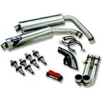 Exhaust Systems 45/50 titanium silencers & engine kit for 998 BP for sale