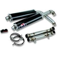Exhaust Systems 45/50/54 carbon silencers set for sale