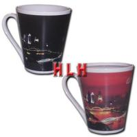 Quality V-shaped Color Changing Mugs for sale