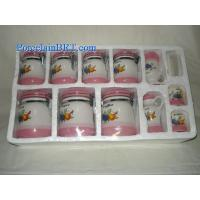 China TSS-017 Ceramic spice canister / seal pot / 11pcs Set Canister on sale