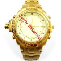 Quality Pro series Dedicated Voice Recorder Golden Watch with AUTO Stealth Mode for sale
