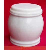 White Funerary Urn for sale
