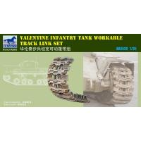 Quality ACCESSORIES AB3536 Valentine Infantry Tank (late type) workable track link set for sale