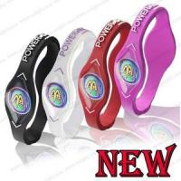 China cheap Power Balance Silicone Wristband Bracelet S M L on sale
