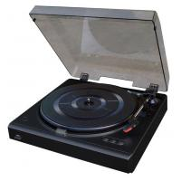 Quality NOSTALGIA WOODEN MUSIC CENTER Turntable for USB-PC Recording with dust cover Model:E-E034 for sale