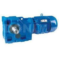 Buy cheap DL K series industrial helical bevel right angle gearmotors from wholesalers